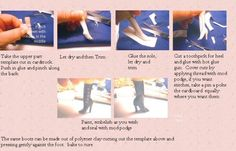 Shoes and boots tutorials