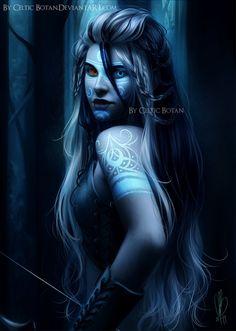 Aunque no lo es, me recuerda a Lady Loki versión Jotun :) ✯ Mitternacht - Scorpion II .. By ~CelticBotan✯