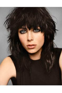 Edie Campbell is the new face of YSL Black Opium