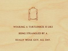 Turtleneck.