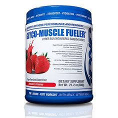 GLYCOMUSCLE FUELER  High Performance Carbohydrates  Powered by Karbolyn Energy Fuel Matrix Glycogen Load Matrix  Absorbs Faster and Provides 2 Hours of Clean Energy  600g *** Details can be found by clicking on the image.