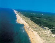 Messanges plage, France