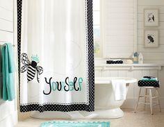 Bee Yourself Bathroom | PBteen