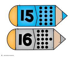 Numbers Preschool, Preschool Worksheets, Action Verbs, Number Activities, Learning Time, Number Sense, Busy Book, School Parties, Middle School