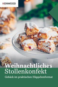 Weihnachtliches Stollenkonfekt - My list of the most healthy food recipes Desserts In A Glass, Great Desserts, Great Recipes, Delicious Desserts, Chocolate Bomb, Chocolate Desserts, Baileys Dessert, Graham, Icebox Cake