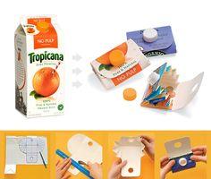 Portafoglio cartone riciclato