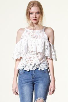 Sandy Floral Race Top Discover the latest fashion trends online at storets.com
