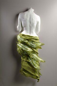 Sculpture Fesses body anatomy deco