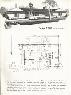 8680969d93bce Vintage House Plans  Traditional Homes Over 2000 Square Feet