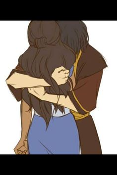 Zutara hug Could this day get any better!