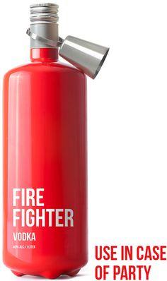 Bem Legaus!: Extintor de vodka
