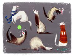 Snorffles n' Meeps! Vol. 3  - Ferrets!