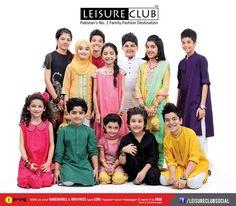 Leisure Club Latest Eid Dresses 2013 for Kids Men Women 5 Leisure Club Latest Eid Dresses 2013 for Kids, Men & Women