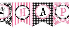 Eloise Happy Birthday Banner by WhenIWasYourAge on Etsy, $10.00