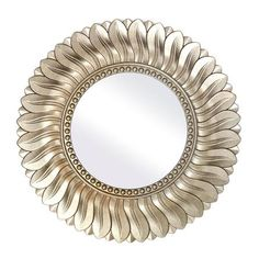 Champagne Leaf Mirror | Dunelm - £16.99 small or £39.99 large