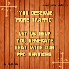 If you are not a web expert, and are looking to have your site ranked on Google to bring new traffic to your site, then PPC is what you need....