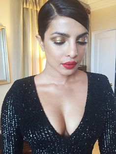 Priyanka Chopra's makeup artist just gave us yet another way to use highlighter.