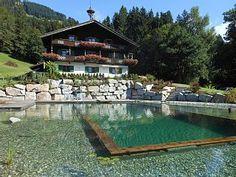 Boerderij op het zonnige plateau * Groot appartement * 10-12 personen. * NIEUW * zwemvijverVakantieverhuur in Brixen im Thale van @homeaway! #vacation #rental #travel #homeaway