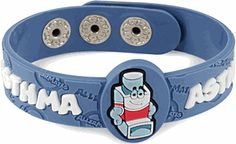 This is new. Asthma Awareness Band. There's also bands for various allergies.