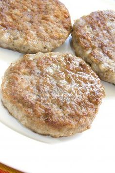 Recipe: Breakfast Sausage