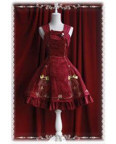 Lolita Jumper Skirt,Lolita Jumper Dresses - DevilInspired.co.uk