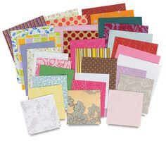 Decorative Paper Assortment, ½ lb $11 or 1 lb $15