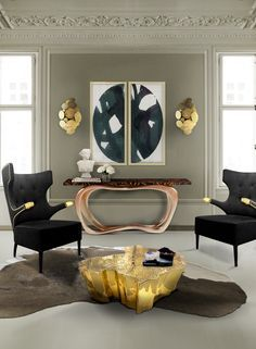 Home decor ideas for living room - This center table adds desire to contemporary home décor and living room décor.