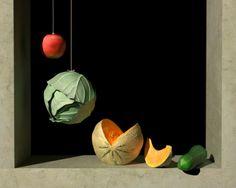After Juan Sanchez Cotan — Richard Kolker Photography Themes, Photography Awards, Urban Photography, Still Life Photography, Modeling Photography, Juan Sanchez Cotan, Image Fruit, Still Life Artists, Fruit Painting