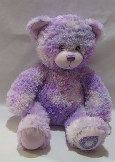 513507f1e81 Build A Bear Teddy Purple 15