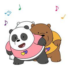 Ice Bear We Bare Bears, We Bear, Chibi Cat, Cute Chibi, Cartoon Gifs, Cute Cartoon Wallpapers, Bear Gif, Cute Bear Drawings, We Bare Bears Wallpapers