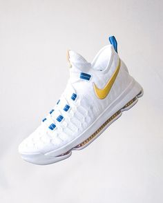 gonna look so good in blue and gold 🙏🙏🙏 #kd9