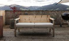 Outdoor Sofa, Outdoor Furniture, Outdoor Decor, Love Seat, Couch, Design, Home Decor, Silver Ash, Carpentry