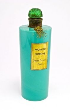 1930s Crystal Nancy, Jean Patou Moment Supreme cologne : Lot 247