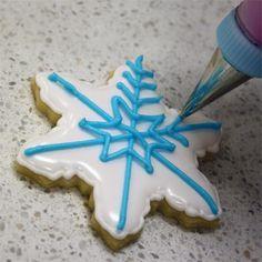 Snowflake Cookie Tutorial