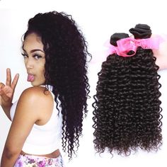 $74.04 (Buy here: alitems.com/... ) Deep Curly Remy Hair Bundles 4 pcs lot Mongolian Hair Sew Human Hair Extension grade 8a Mongolian Deep Wave Virgin Hair Bundle for just $74.04
