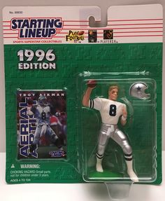The Angry Spider Has All Of The Toys You Want For Your Collection: TAS037831 - 1996 ...  Check it out here! http://theangryspider.com/products/tas037831-1996-kenner-starting-lineup-nfl-dallas-cowboys-troy-aikman?utm_campaign=social_autopilot&utm_source=pin&utm_medium=pin