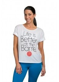 Pure Barre Shop New Arrivals! life is better short sleeve