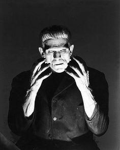 """""""Frankenstein"""" Boris Karloff 1931 Universal"""
