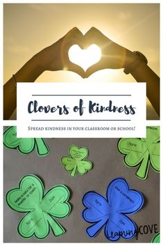 These kindness clovers or shamrocks will get your students thinking about kindness and the effect it has on others. There are more than 35 different clovers with acts of kindness. You can create a bulletin board and have students complet Kindness Activities, Preschool Activities, Accountable Talk Posters, L Names, Bulletin Board Letters, St Patrick Day Activities, Holidays Around The World, Be A Nice Human, Freundlich