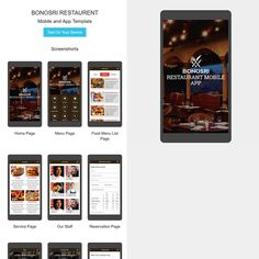 Bonosri – Restaurant Mobile App HTML Template will help you create a mobile website, a mobile web app, or a native app. This template using Framework7 which Framework7 is to give you an opportunity to create iOS & Android apps with HTML, CSS and JavaScript easily and clear. More Details: https://devitems.com/item/bonosri-restaurant-mobile-app-html-template/