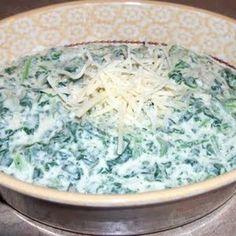 Easy creamed spinach - Allthecooks.com