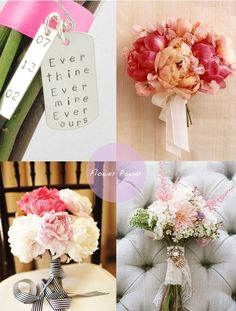 {Wedding Wednesday} Party Inspiration: Beautiful Bouquets