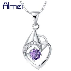 Find More Pendant Necklaces Information about Almei Vintage Jewelry Pendants Women Jewellery Gifts Indian Jewelry Bijuterias No Atacado Suspension Womens Charm 2015Almei N905,High Quality pendant heart,China pendant lovers Suppliers, Cheap pendant string from ULove Fashion Jewelry Store on Aliexpress.com