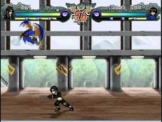 Naruto Shippuden MUGEN Edition 2012. Sai vs Rock Lee / サイVSロック・リー