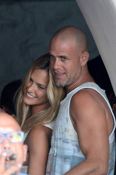 Bar Refaeli a épousé son compagnon Adi Ezra à la fin du mois d'aoûtSupermodel Bar Refaeli and boyfriend Adi Ezra are accompanied by a friendly couple as they enjoy the day in Mykonos island, Greece, on August 30, 2014. The couple were spotted with friends in a boat and enjoying in a disco. Photo by Look Press Agency/ABACAPRESS.COM