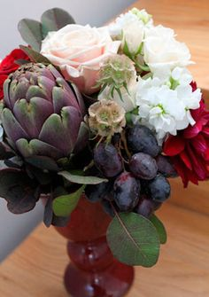 Unusual flower arrangements