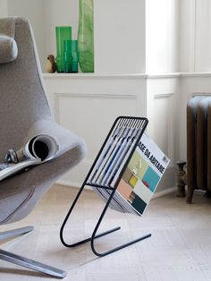 Display your favorite magazines in a fun and creative way. Float Magazine Rack | Designed by J-Me