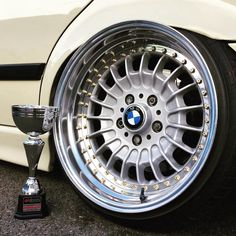 Trophy and rebarreled oem BMW wheels to cure your Monday's. #bmw #e36 #wagon #trophy :@edward_e36