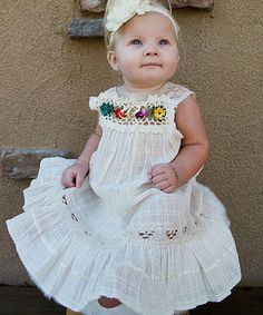 Love this Natural Nathaly Ibiza Dress - Infant, Toddler & Girls by Little Cotton Dress on #zulily! #zulilyfinds