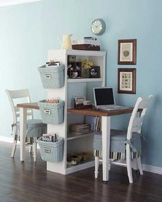 Seperate desk for him and her